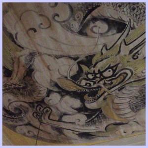 建長寺の天井