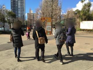 上野動物園の散策