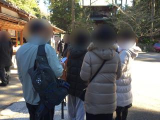 円覚寺散策中