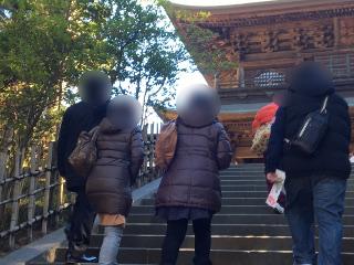 鎌倉散策イベント中
