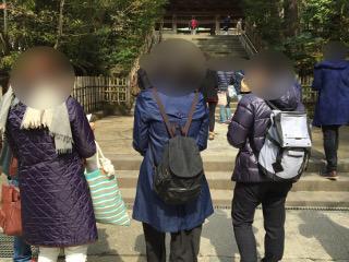 円覚寺でグループ参拝