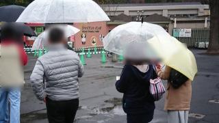 上野動物園のグループ散策