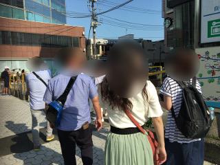 鎌倉駅集合