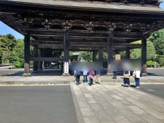 建長寺にて散策