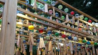 氷川神社風鈴